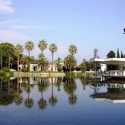 Монастырский парк Нового Афона